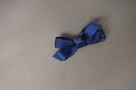 Haarlokspeldje met strikje 'blauw'