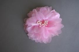 Grote feestelijke bloem 'roze'