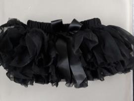 Tule rokje  met broekje 'zwart'