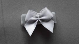 Baby klittenband  'grijs fluweel'