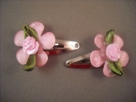 Baby haarknipje bloem