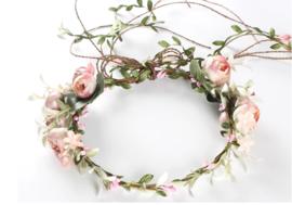 Bloemen haarband 'diana'