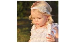 Baby / peuter haarbandje  'feestelijk'