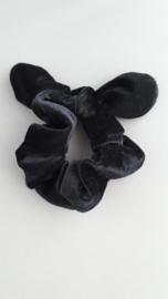 Scrunchie met oortjes 'zwart'