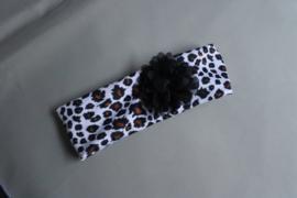 Haarbandje met dierenprint