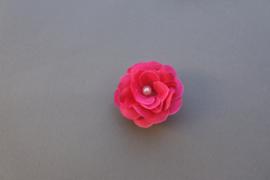 Fuchsia bloem/parel