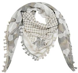 Vierkante sjaal met ster