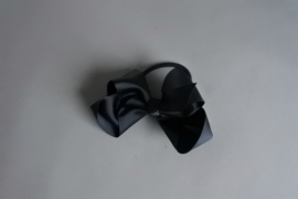 Elastiek met strik 'zwart'