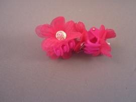 Kinderklemmetje met bloem (6kleuren)