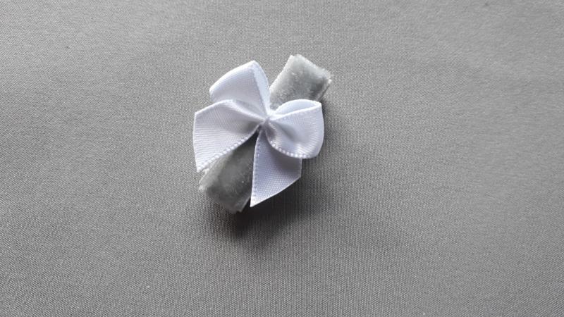 Anti slip baby haarspeldje 'grijs'