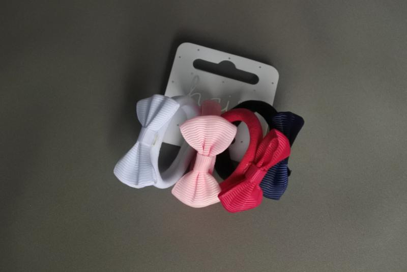 Setje elastieken met strikje