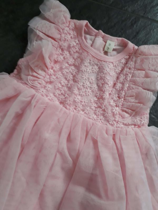 prachtig baby jurkje  'feestelijk'