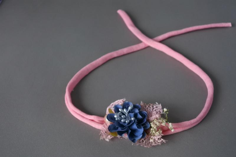 Baby haarbandje 'roze'