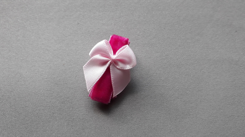 Anti slip fuchsia Baby haarspeldje 'fuchsia'