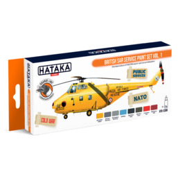 "HTK-CS98 ""British SAR Service paint set vol. 1"""