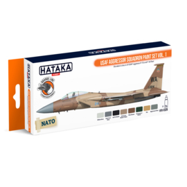 HTK-CS29	USAF Aggressor Squadron paint set vol. 1