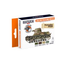 HTK-CS11Early WW2 Polish Army paint set
