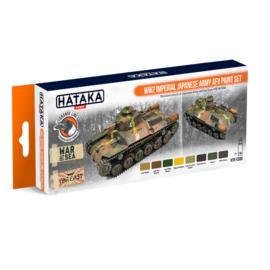 HTK-CS69WW2 Imperial Japanese Army AFV Paint Set