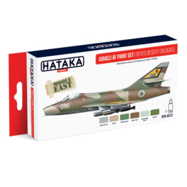 HTK-AS12	Israeli AF paint set (1970's desert colours)