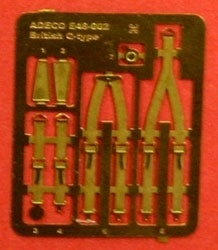 1/24 PHOTO ETCH RAF harness
