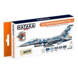 HTK-CS30USAF Aggressor Squadron paint set vol. 2
