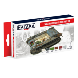 HTK-AS37	WW2 AFV Interior Colours paint set