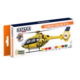 HTK-CS76Air Ambulance (HEMS) paint set vol. 1