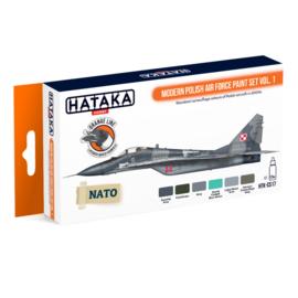 HTK-CS17Modern Polish Air Force paint set vol. 1