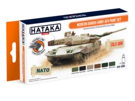 HTK-CS84Modern Danish Army AFV paint set