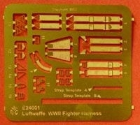 1/24 PHOTO ETCH Luftwaffe harness