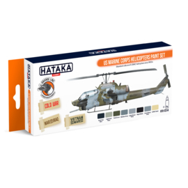 HTK-CS14	US Marine Corps Helicopters Paint Set