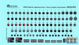 AS32-JPN 1/32 WW-2 Japanese Instruments (NIEUW)!!!