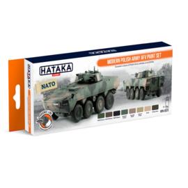 HTK-CS72Modern Polish Army AFV paint set