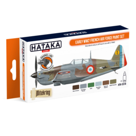 HTK-CS16Early WW2 French Air Force paint set