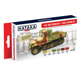 HTK-AS36	1945 WW2 German AFV | panel lighting set