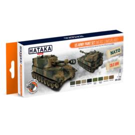 HTK-CS51US Army paint set (MERDC camouflage)