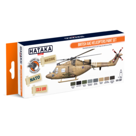 HTK-CS87British AAC Helicopters paint set