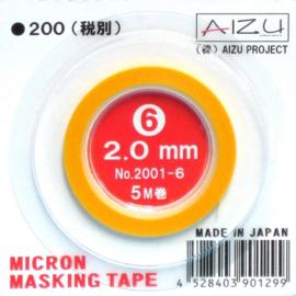 AIZU masking tape  2,0mm