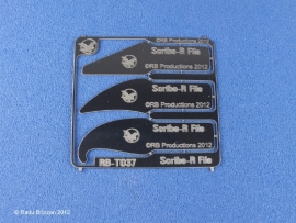Scribe-R File    RB-T037  NIEUW  !!!