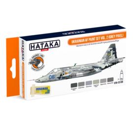 HTK-CS109Ukrainian AF paint set vol. 2 (Grey Pixel)