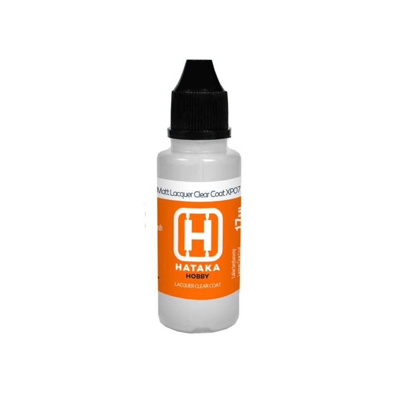 HTK-XP07-17ml	Matt Lacquer Clear Coat 17 ml