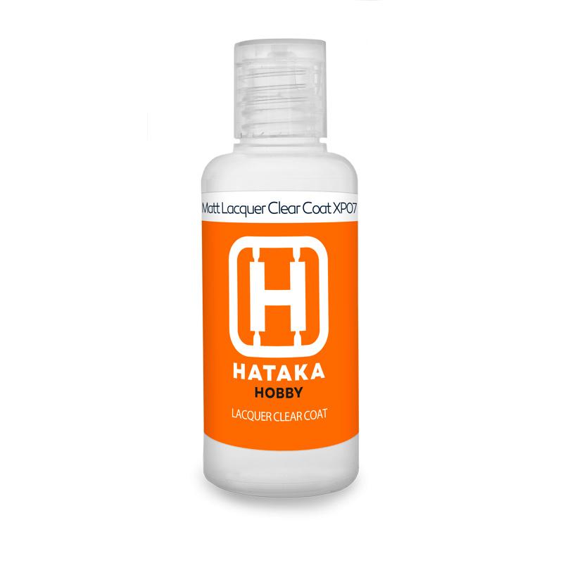 HTK-XP07-60mlMatt Lacquer Clear Coat 60 ml