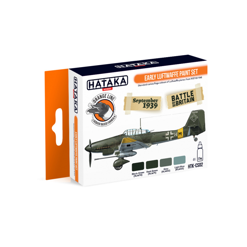 HTK-CS02Early Luftwaffe paint set