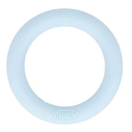 Siliconen bijtring 65mm nr. 258 licht blauw