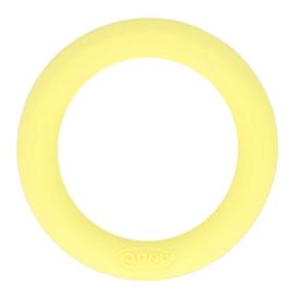 Siliconen bijtring 65mm nr. 638 licht geel
