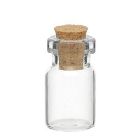 Miniatuur Glazen flesje