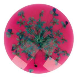 Handgemaakte bloemenknoop nr. 786 roze