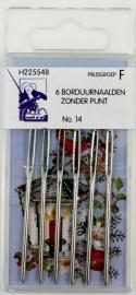 Borduurnaalden zonder punt nr. 14