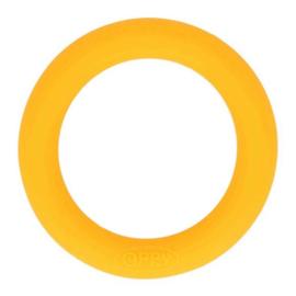 Siliconen bijtring 65 mm nr. 645 geel