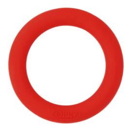Siliconen bijtring 65mm nr. 722 rood